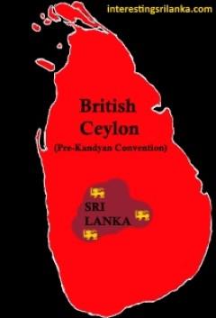 British Rule in Sri Lanka Kandyan Convention