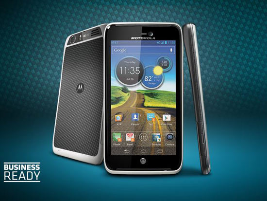 Motorola Atrix HD Reveals, LTE handset headed to AT&T