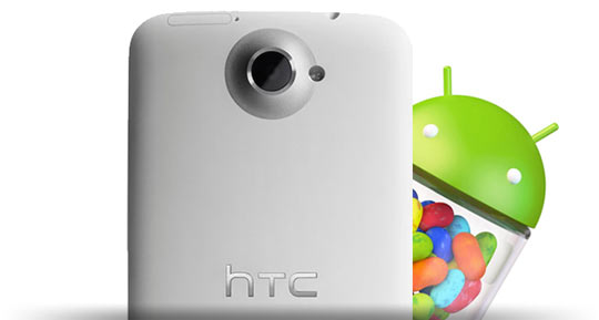HTC One X and One S Jelly Bean Updates