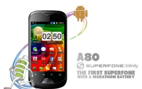 Micromax Superfone A80 Infinity dual-sim Android Smartphone Launched for Rs. 8,490