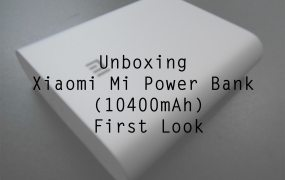 Xiaomi Mi Power Bank 10400mAh Unboxing & First Look