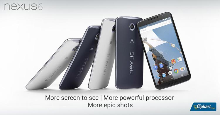 Buy Google Nexus 6 starting tomorrow from Flipkart