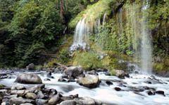 Mossbrae Falls wallpaper