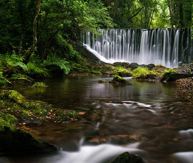 High Resolution Desktop Wallpaper Galician Waterfall By Lifestream