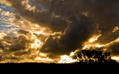 High-resolution desktop wallpaper Stormy Skies by acidphosphatase