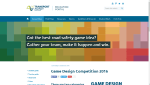 nzta game screenshot (for sidebar)