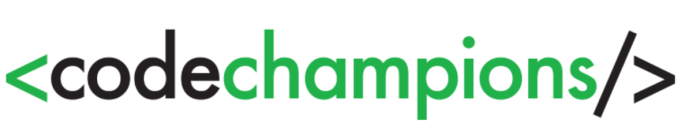 code champions logo