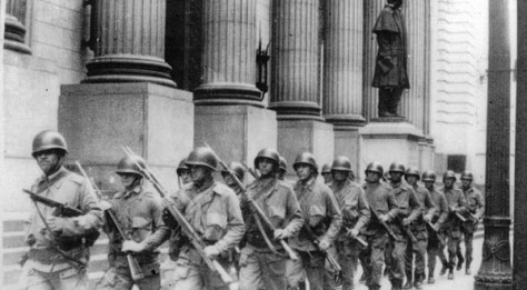 Militares brasileños en 1971. Redes.