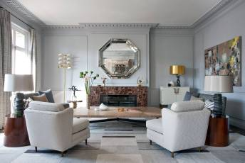 wall mirror decor ideas How To Decorate A Living Room Wall With Mirrors Big Living Room Wall