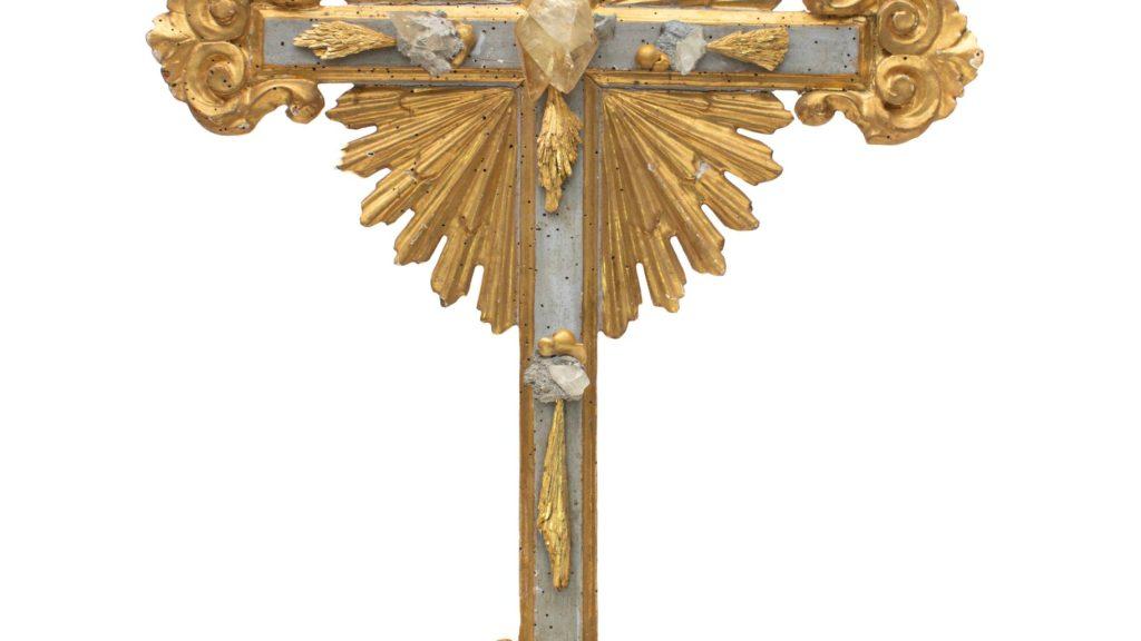 18th century crucifix