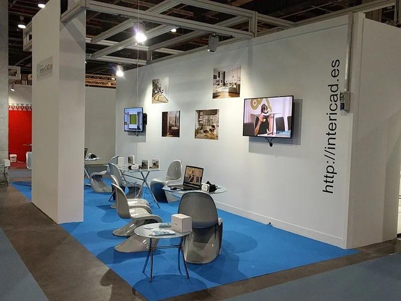 Stand de InteriCAD en la Feria Habitat 2017 de Valencia