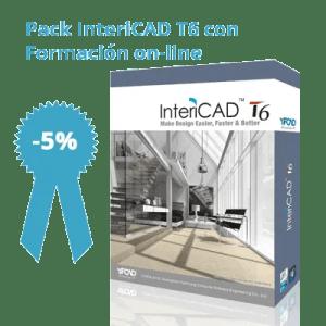 Pack InteriCAD T6 con Formación on-line