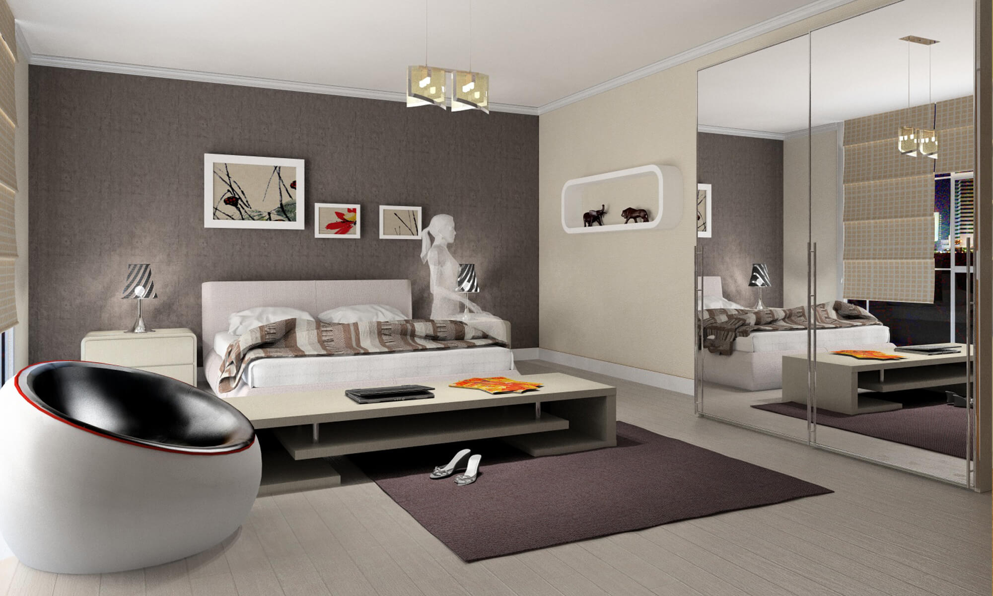 Projets 3d Chambres Intericad