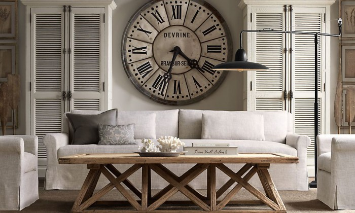 Muurdecoratie woonkamer 6 stijlvolle idee n interieur ideeen - Interieur industriele stijl decoratie ...