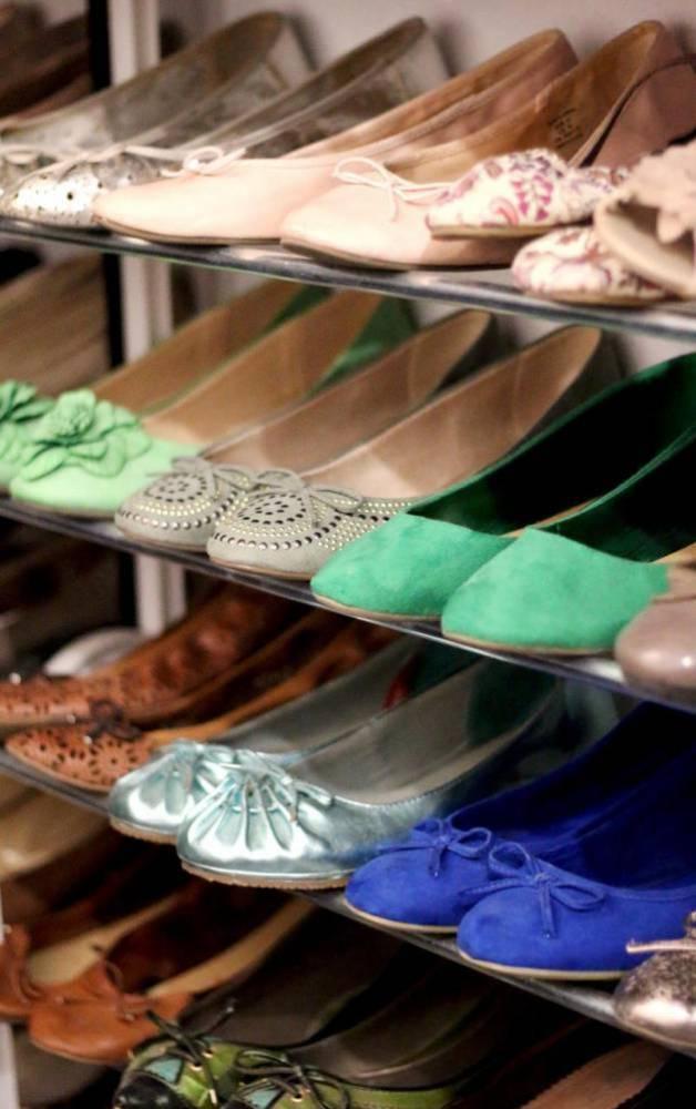 inloopkast schoenen