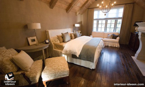 bruine slaapkamer, Deco ideeën