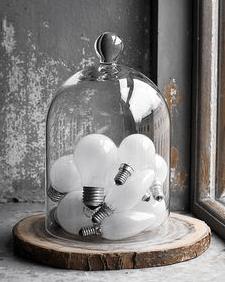 stolp met lampen