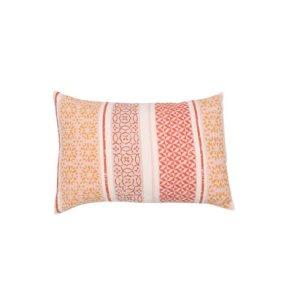 David Fussenegger David Fussenegger sierkussenhoes Silvretta 'small pattern bordure' 40x60 terracotta