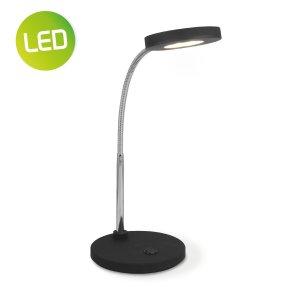 Home sweet home LED bureaulamp Polly ↕ 28 cm - zwart