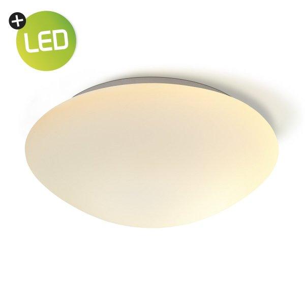 Home sweet home LED plafondlamp Frost Ø 32 cm - wit