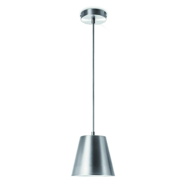 Home sweet home hanglamp Clocks Ø 16 cm - mat staal