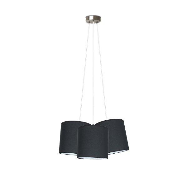 Home sweet home hanglamp Triple Ø 50 cm - zwart