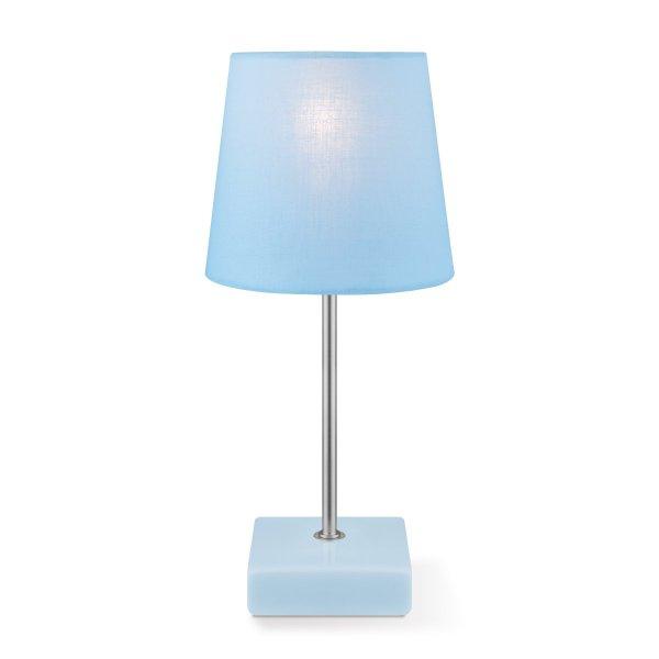 Home sweet home tafellamp Arica ↕ 27 cm - blauw