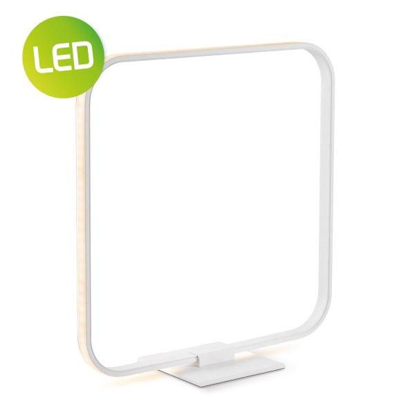 Home sweet home tafellamp LED Quad ↕ 35,8 cm - wit