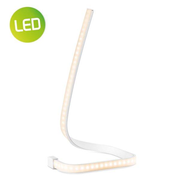 Home sweet home tafellamp LED Swirl ↕ 29,2 cm - wit