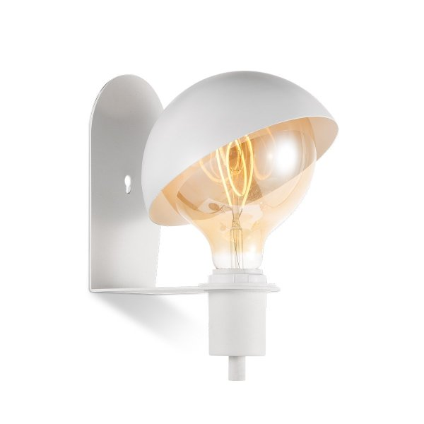 Home sweet home wandlamp Dyna - wit