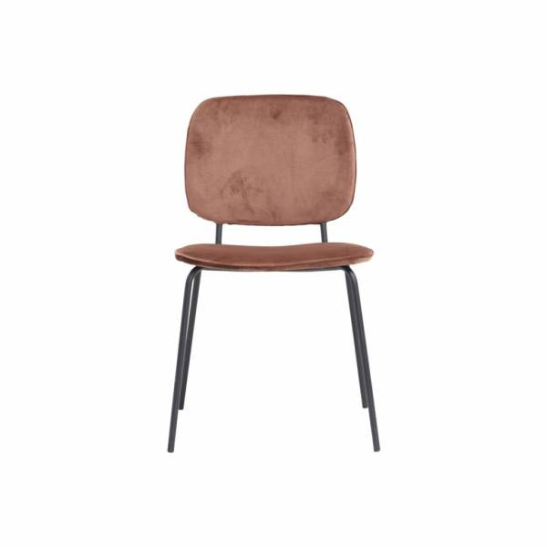 House Doctor Comma Chair Stof Terracotta