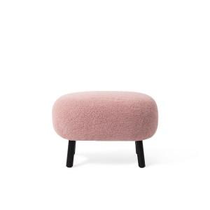 Jesper Home Kita poef Stof Pink