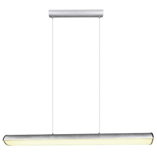 LED Hanglamp - Trion Coventa - 35W - Aanpasbare Kleur - Rechthoek - Mat Titaan - Aluminium