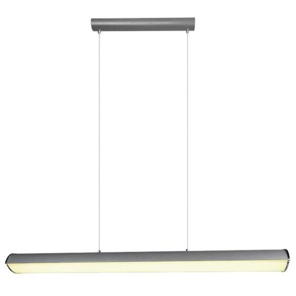 LED Hanglamp - Trion Coventa - 35W - Aanpasbare Kleur - Rechthoek - Mat Zwart - Aluminium