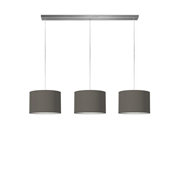 hanglamp beam 3 bling Ø 30 cm - antraciet