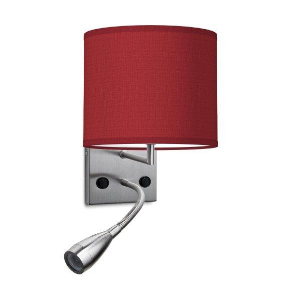 wandlamp read bling Ø 20 cm - rood