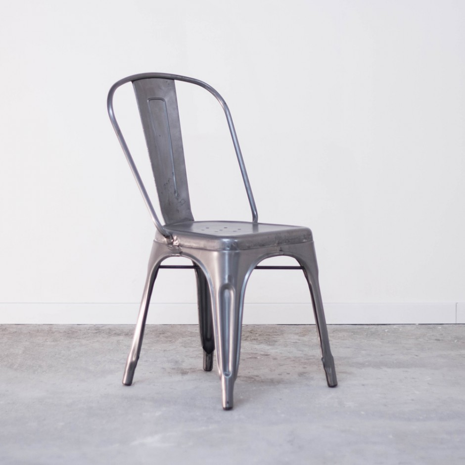 chaise style tolix metal