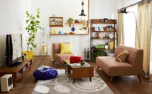 一人暮らしの北欧の部屋2