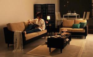 一人暮らしのアジアンテイストの部屋2