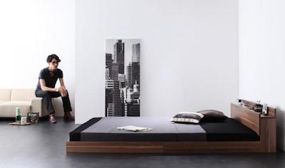 洗練されたシンプルな男性の一人暮らしの部屋