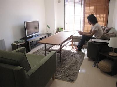 シンプルライフを実現した男性の一人暮らしの部屋