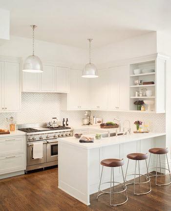 ホワイトインテリアを使ったキッチン3