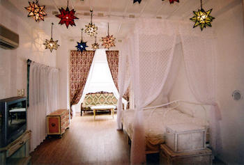 おしゃれな寝室のインテリアのコーディネート画像15