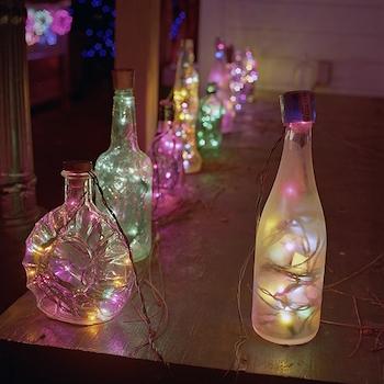 お部屋に飾りたいおしゃれなイルミネーションライトの実例2