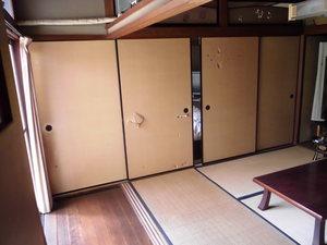 和室の襖をアコーディオンカーテンに取替 (京都市伏見区)