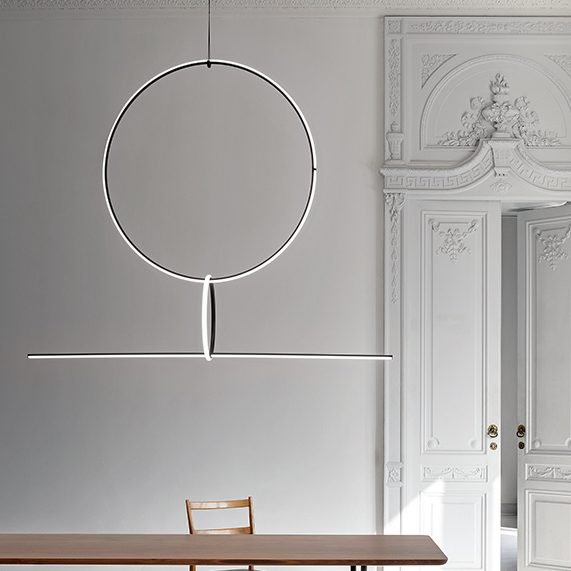 Light Sculptures – the Magnificent FLOS Arrangement Lamp Design