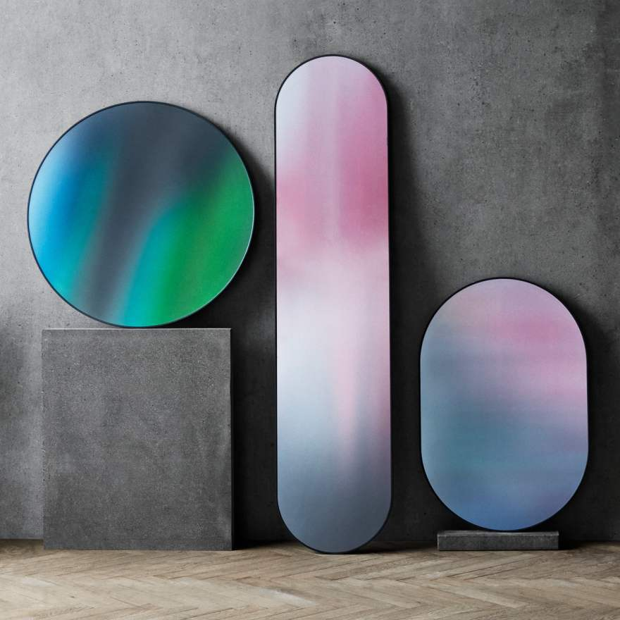 Unique Rainbow Mirror by Studio Roso for Fritz Hansen
