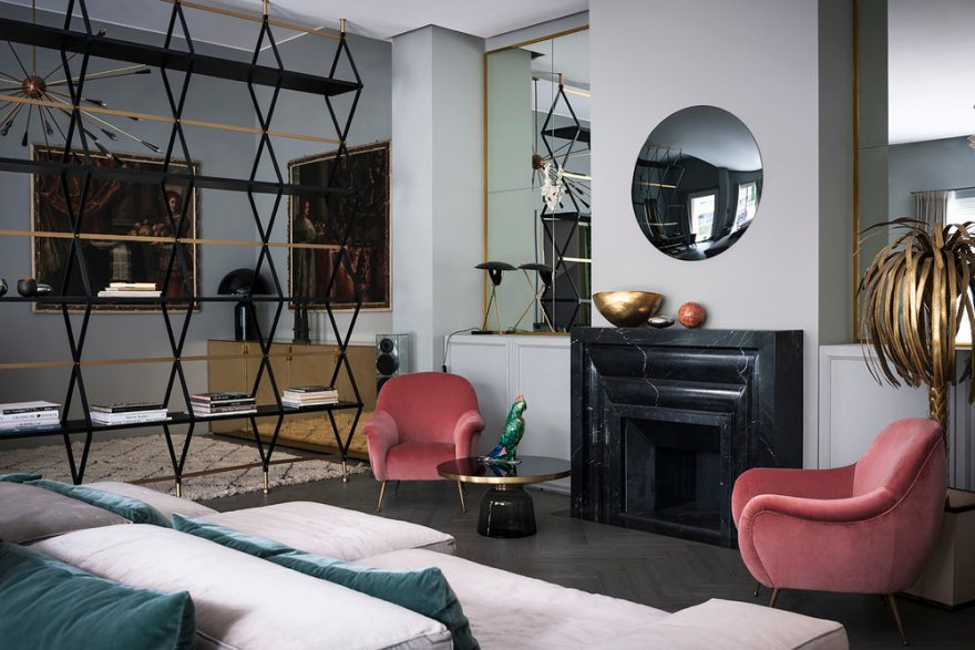 Italian New Style Apartment by Milan Designer Duo STUDIOPEPE