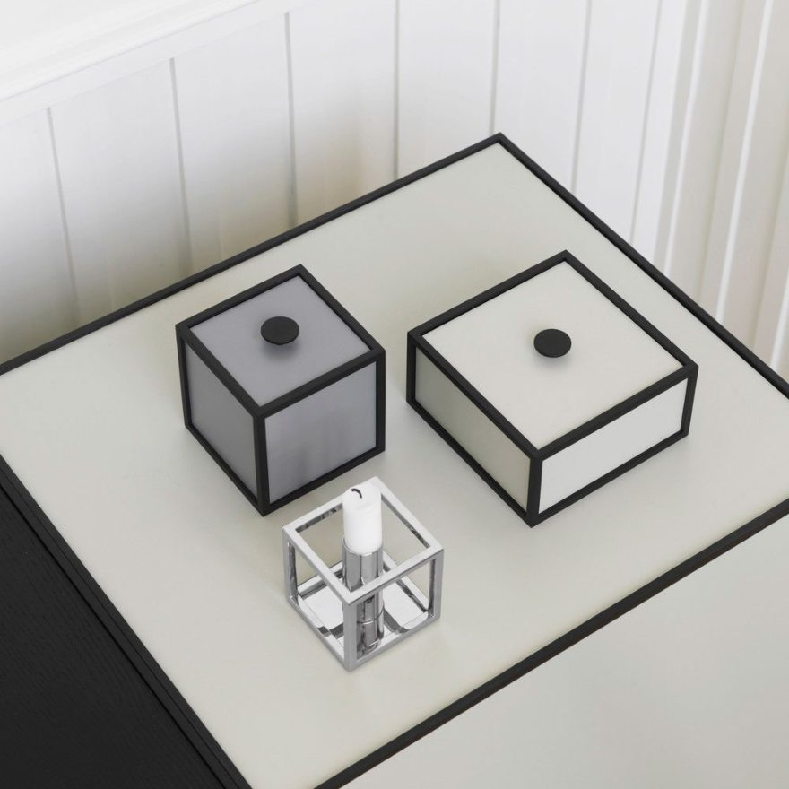 The Frame Box Design – A Modern Scandinavian Storage System by Mogens Lassen
