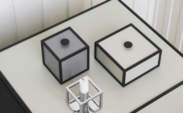 The Frame Box Design – A Modern Scandinavian Storage System by Mogens Lassen interior3000, design blog, interior design, furniture design